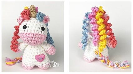 unicorn crochet pattern, unicorn pattern, crochet pattern von ... | 237x427