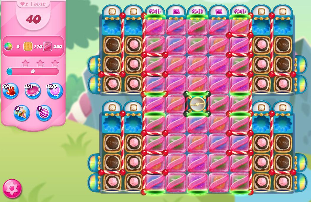 Candy Crush Saga level 8612