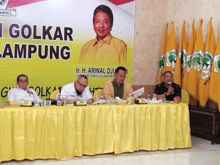 Panitia Musda Partai Golkar Lampung, Gelar Rapat Persiapan