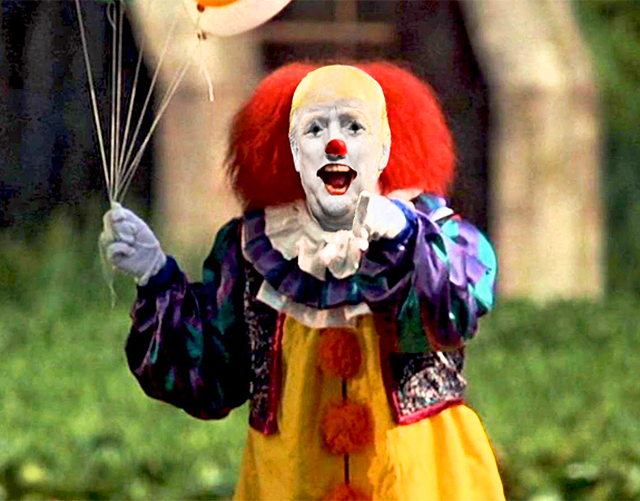 Donald Trump as Pennywise the Clown