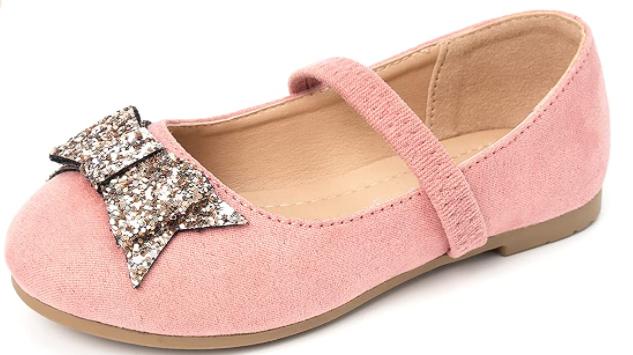 Kids Pink Ballet Flats