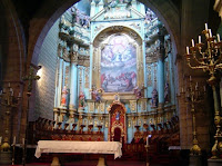 Quito Cathedral Church Altar