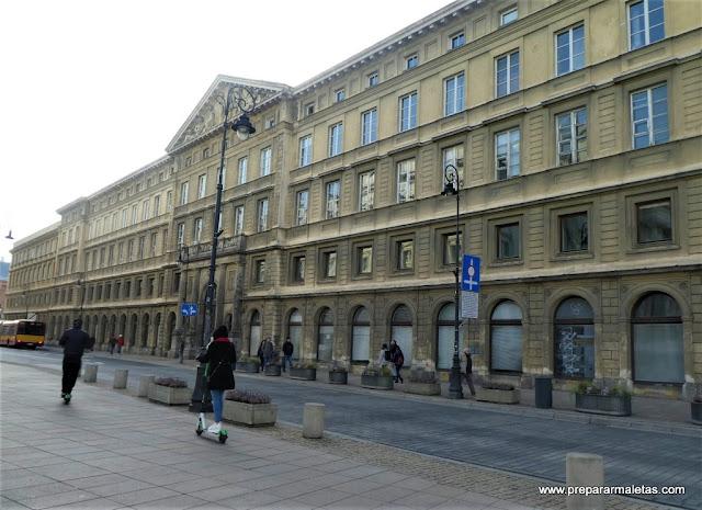 Chopin y la universidad de Varsovia