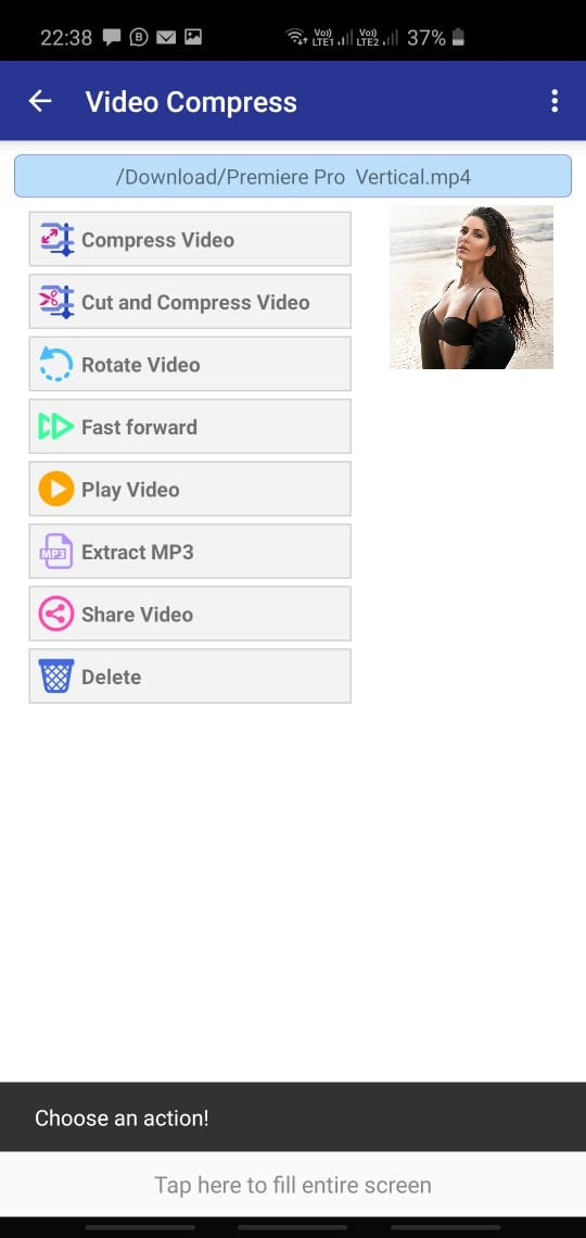 REDUCE VIDEO FILE SIZE UP TO 90% ON ANDROID