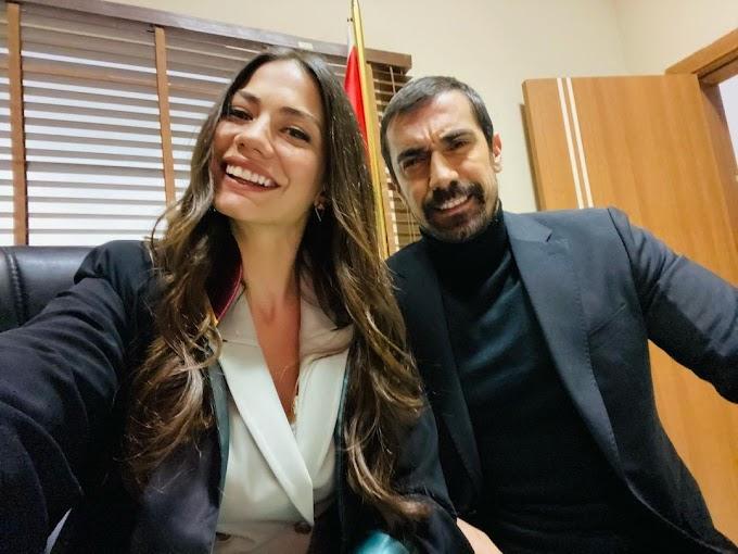 Demet Özdemir's emotional farewell to İbrahim Çelikkol