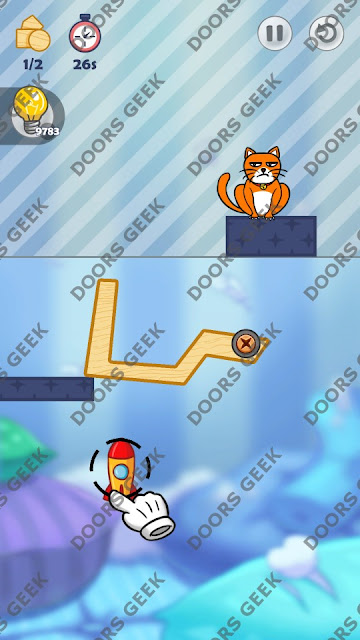 Hello Cats Level 148 Solution, Cheats, Walkthrough 3 Stars for Android and iOS