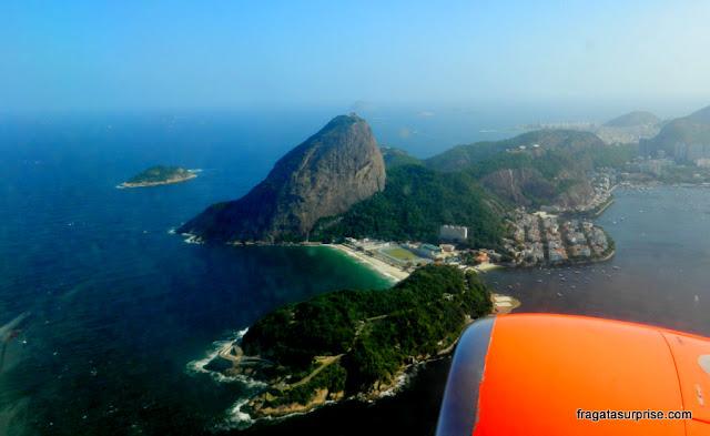 Rio de Janeiro visto do avião