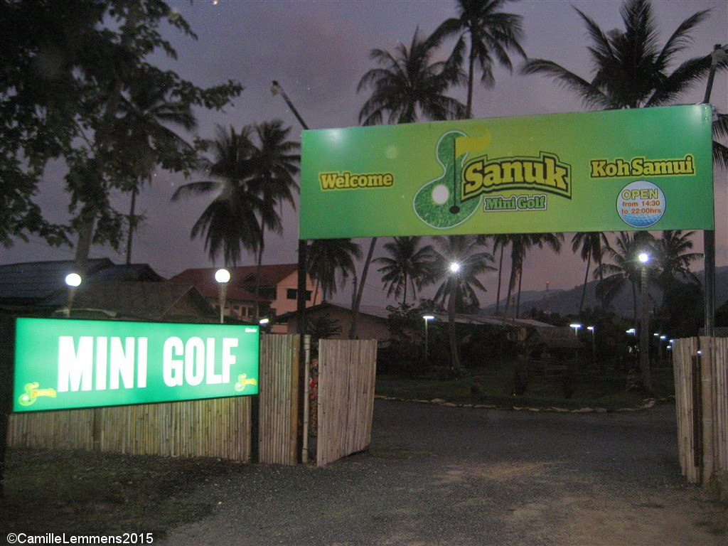 Mini Golf, Fisherman's Village
