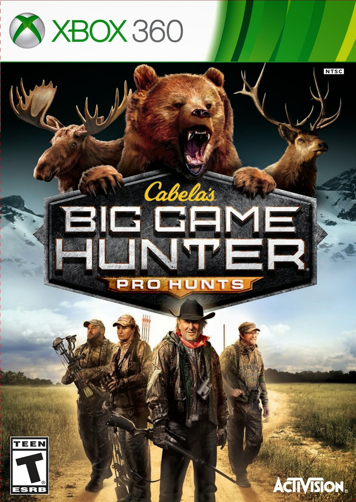 Cover Caratula Cabela's Big Game Hunter Pro Hunts XBOX 360