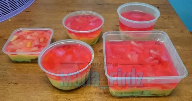 Resepi Trifle Cocktail Mudah Tapi Sedap!