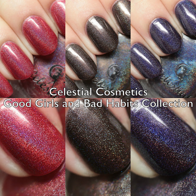 Celestial Cosmetics Good Girls and Bad Habits Collection