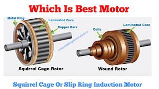 Electrical Interview Questions   Which Motor Is Best, Squirrel Cage Or Slip Ring Induction Motor