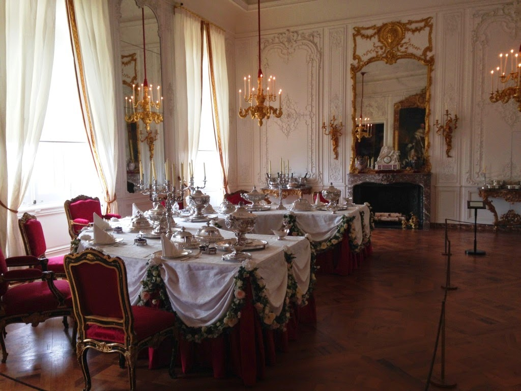 Waddesdon Manor White Drawing Room