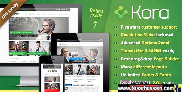Kora Premium WordPress Theme