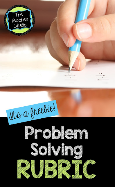 Teaching problem solving and the standards for mathematical practice are both challenging. We must help students understand expectations.  This problem solving rubric can help you communicate to students what expectations are.  Problem solving rubric printable, teaching problem solving, problem solving assessment