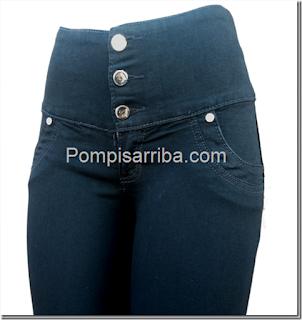 pompisarribajeans corte colombiano pantalon de moda para dama baratos