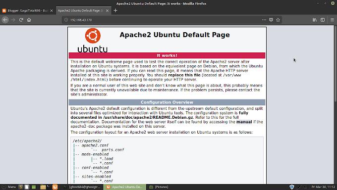 Cara Sharing Data Ke Windows Menggunakan Webserver Apache di GNU/Linux