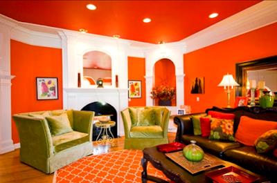 Kombinasi Desain Warna Cat Plafon, Dinding Dan Lantai Rumah Yang Bagus