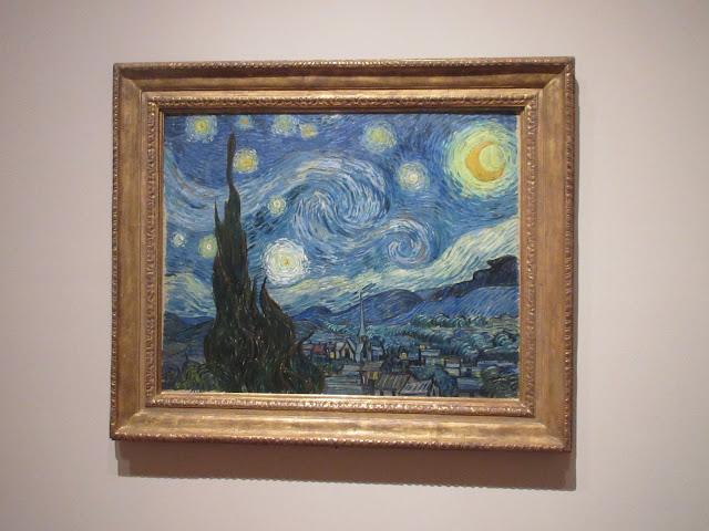 La Noche Estrellada, Van Gogh, MOMA, Museum of Modern Art, New York,  Elisa N, Blog de Viajes, Lifestyle, Travel
