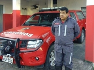 Coronel Valdemir Mathias do Corpo de Bombeiros de SAJ é transferido para Paulo Afonso, no norte do estado