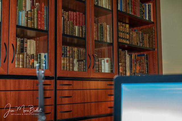 Artillerie, fortifications et bibliophilie