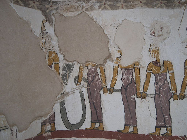 Paintings from the tomb of Petosiris at Muzawaka (XXXVII)