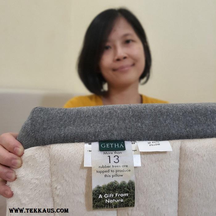 Getha Pillow 100% Natural Latex