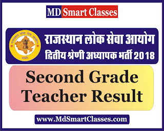 RPSC Senior Teacher Grade II Result 2019