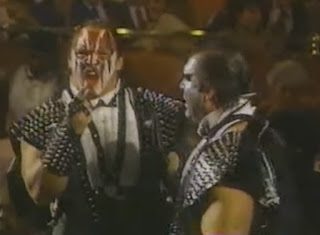 WWF - Slammy Awards 1987 - Demolition looking awesome
