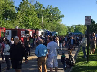 Ravinia District Food Truck Thursdays has quite a lineup of food trucks!