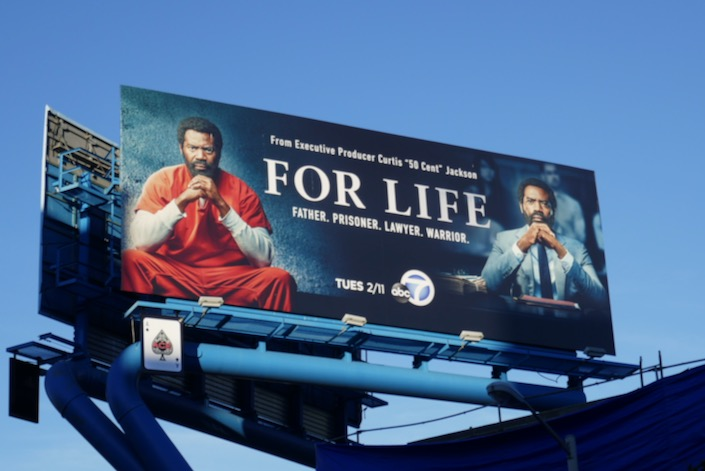For Life series premiere billboard