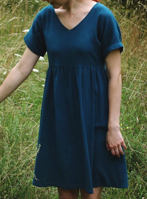 jak uszyć prostą sukienkę