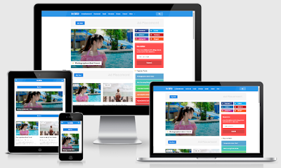 Download Template Blogger SafeLink In SEO Pro Responsive