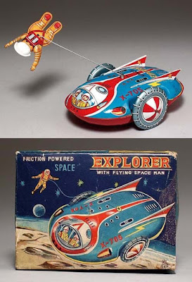 Friction Powered Space Explorer