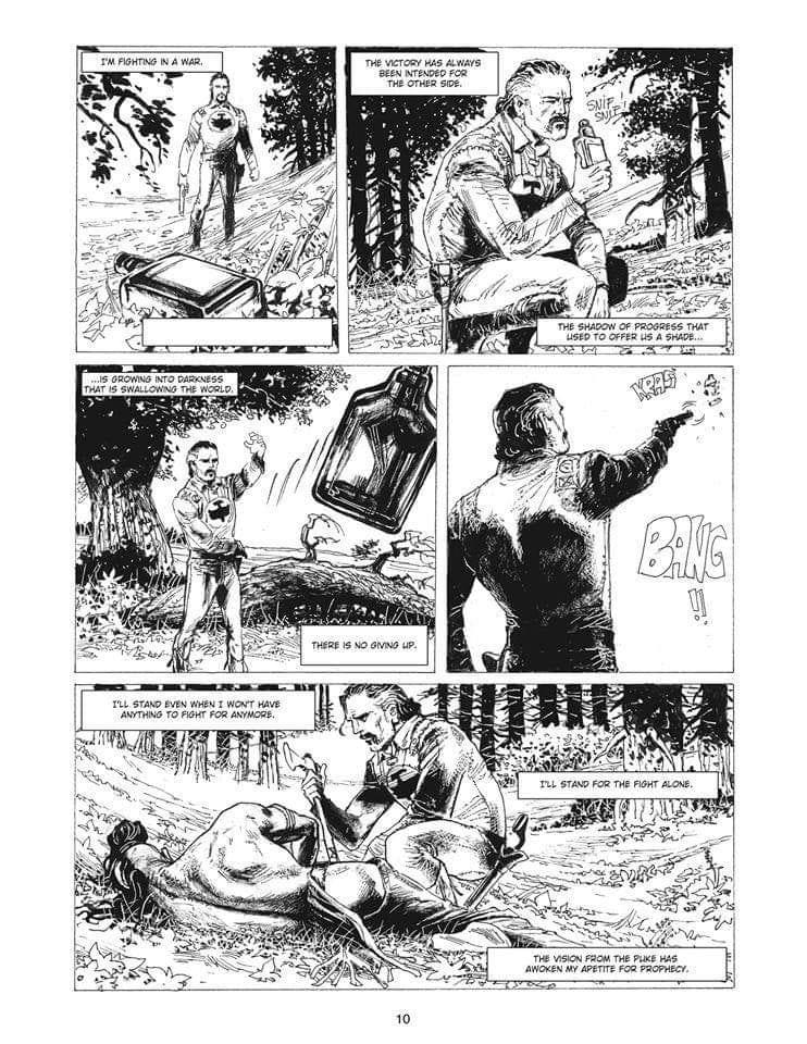 Zagor fanfiction the hunt