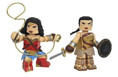 Wonder Woman Movie Vinimates Vinyl Figures by Diamond Select Toys x DC Comics – Wonder Woman & Training Gear Diana