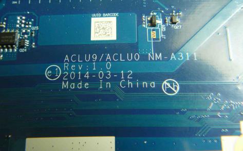 NM-A311 REV 1.0 LENOVO G40-30 Laptop Bios