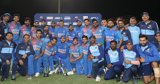 India tour of New Zealand 5-Match T20I Series 2020