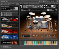 Download Native Instruments Abbey Road Modern Drummer KONTAKT Library