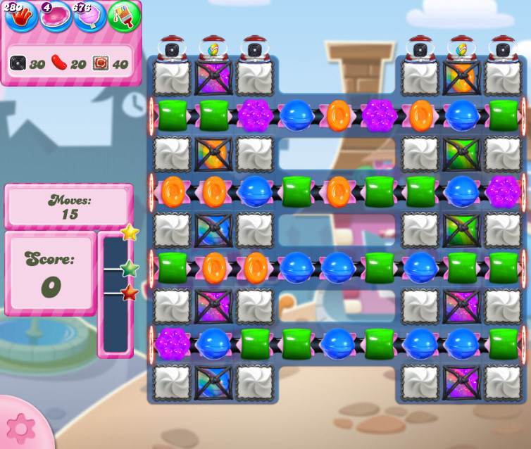 Candy Crush Saga level 2729