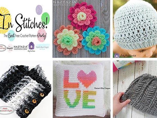 In Stitches: The Best Free Crochet Pattern Party - Week 1 Link Up Party