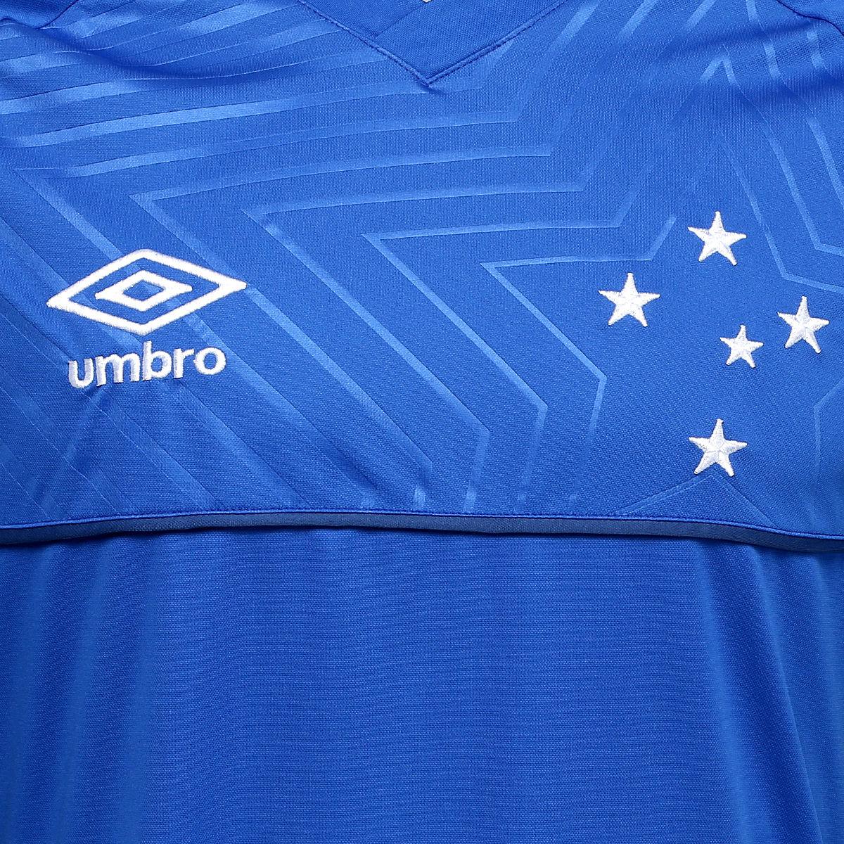 e8cef69dc857a Umbro lança a nova camisa titular do Cruzeiro - Show de Camisas