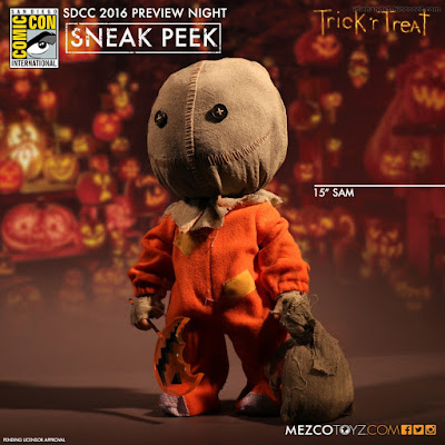 Mezco Trick R Treat 15 inch Sam Figure