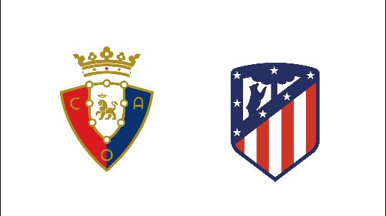 أتليتيكو مدريد يواجه أوساسونا اليوم و يسعى للهروب في صدارة الدوري