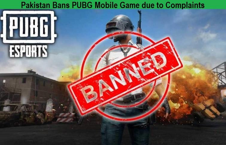 Pakistan Bans PUBG Mobile