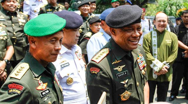 Panglima Gatot Sebut ada yang Adu Domba antara TNI dan Polri