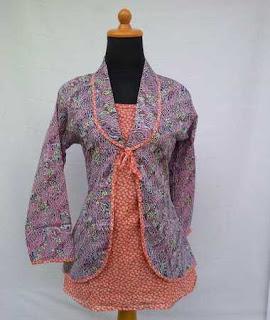 model baju batik atasan ala dian pelangi