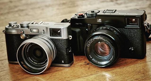 Fujifilm X100S and XPro2