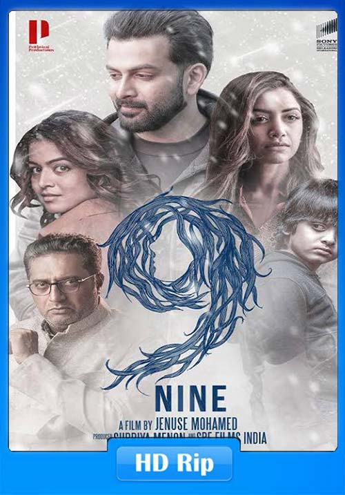 9 Nine 2019 720p Malayalam HDRip x264 | 480p 300MB | 100MB HEVC Poster