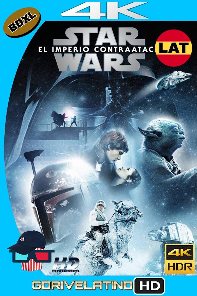 Star Wars : El Imperio ContraAtaca (1980) BDXL 4K UHD HDR Latino-Ingles ISO